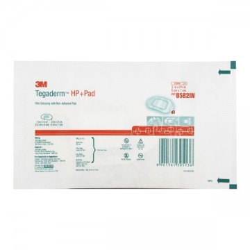 3M Tegaderm HP+Pad Film Dressing (8582IN) - One Piece