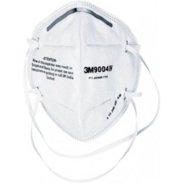 3M 9004IN White Disposable  Dust Respirator Mask - Set of 3 Pcs