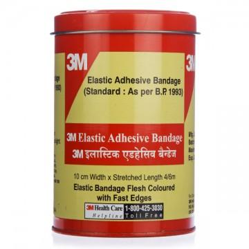 3M Elastic Adhesive Bandage 10cm X 4/6m.