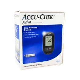 AccuChek Aviva Gulcometer With 60 (10+50) Test Strips