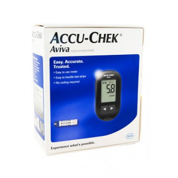 AccuChek Aviva Gulcometer With Free 10 test strips