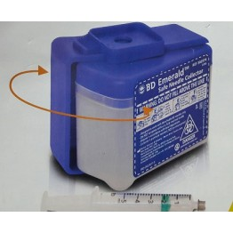 BD Emerald Safe Needle Disposal & Collector