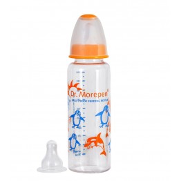 Dr Morepen PC-01 Spill Proof Feeding Bottle (250 ml)