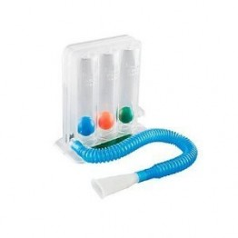 Equinox Lung Exerciser (Spirometer) - 3 Balls