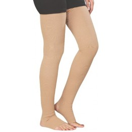 Flamingo Varicose Vein Compression Stockings (Above Knee ) (Color May Vary)