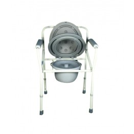 Karma Folding Commode without Wheels - Rainbow 2