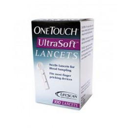 OneTouch Ultrasoft 25 Lancets