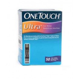 Onetouch Ultra Gulcometer Test Strips-50 Strips (2x25 PACK)
