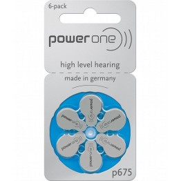 PowerOne P675 Hearing Aid Battery