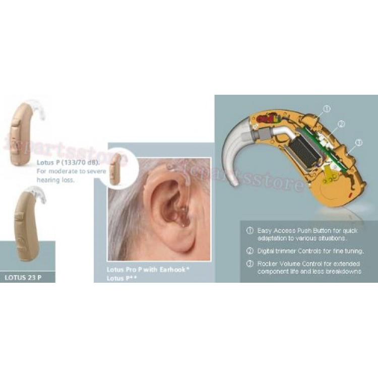 Siemens Hearing Aid Lotus 23 Sp Bte Buy Online At Best Price In