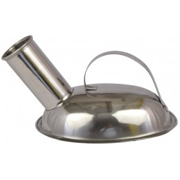 Urine Pot Stainless Steel - Male