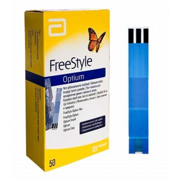 Abbott Freestyle Optium  Test Strips - 50 Strips