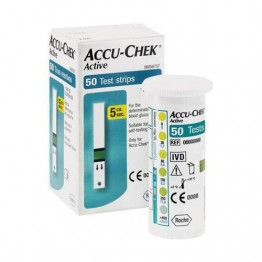 Accu-Chek Active Test Strips 50's Pack