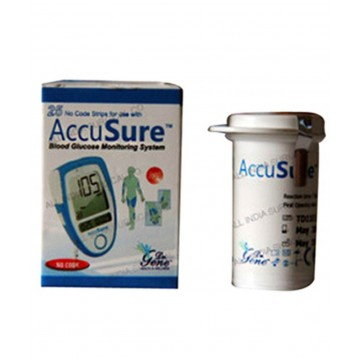 Accusure Dr. Gene Test Strips - 25 Pack