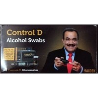 Control D Alcohol Swabs  - Box of 100 Pcs.