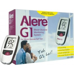 Alere G1 Sugar Meter (Gulcometer)  with 50 Strips