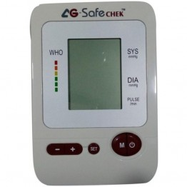 AG SafeChek Upper Arm Digital BP Monitor (AG-1010)