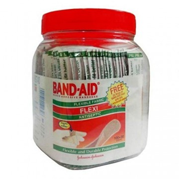 Band Aid Johnson & Johnson Flexi, 100 Pieces Jar