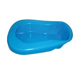 Bed Pan with Lid (Plastic) - Color May Vary