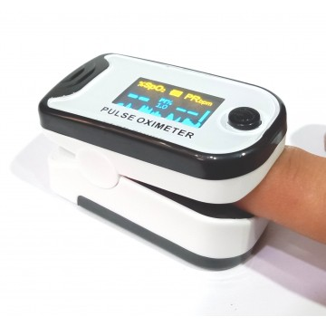Harsons FINGERTIP Pulse Oximeter - With Beep & Alarm