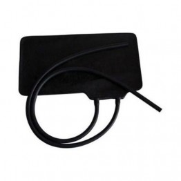 BP Rubber Armlet Black (Imported Fine Quality)  (BP Bladder)