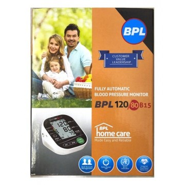 BPL 120/80 B15 Fully Automatic Digital Blood Pressure Monitor (With Micro-USB Port)