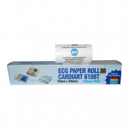 BPL ECG Paper Roll Cardiart 6108T (50mm x 20 Mtrs.) -  Pack of 5 Rolls