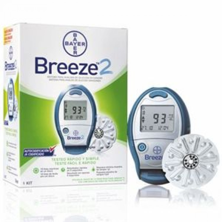 bayer breeze 2 gulcometer with 50 test strips buy online at best rh healthklin com Ascensia Breeze 2 Breeze 2 Glucose Meter User Manual
