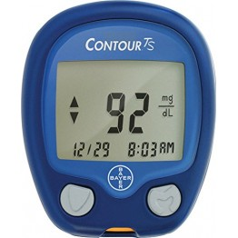 Bayer Contour TS Gulcometer with Free 25 Test Strips
