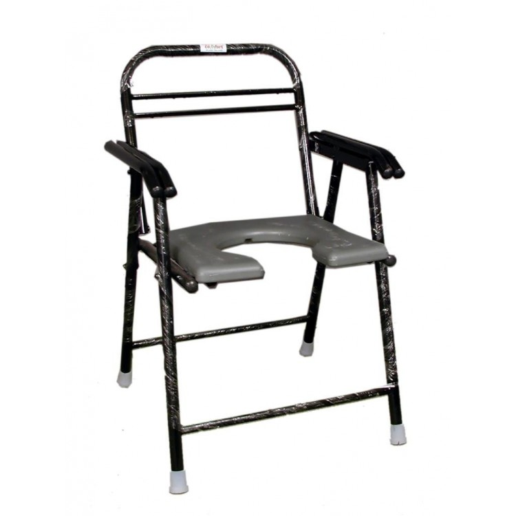 folding commode chair with pot | buy online at best price in india