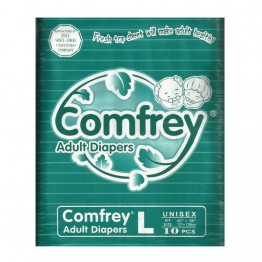 Comfrey Adult Diapers (10 Pcs Pack)
