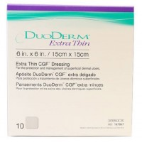 ConvaTec DuoDERM Extra Thin CGF Dressing (6 x 6 Inches) - 10 Pcs Box, Ref # 187957
