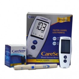 Caresens-II Gulcometer with Free 25 Test Strips