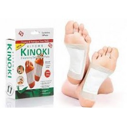 Kinoxi Detox Cleansing Foot Pads (Kiyome) - 10 Pads