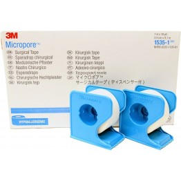 Micropore 3M Surgical Paper Tape With Dispenser (Box Pack)
