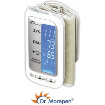 Dr. Morepen Digital BP Monitor with Rechargeable Battery  (Model : BP-02UA)