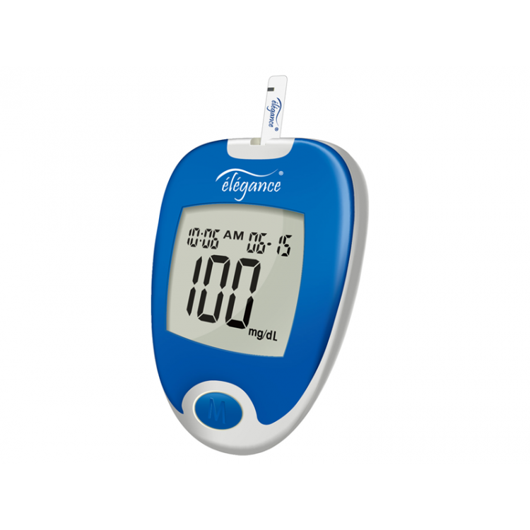 Elegance Blood Glucose Monitoring System (CT-X12) - With 25 Test Strips
