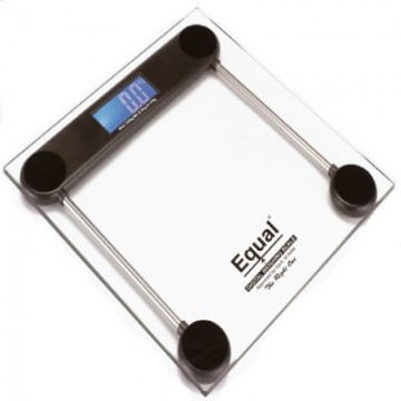 Equal Digital Weighing Scale (Transparent Glass)