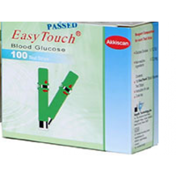 EasyTouch Blood Glucose Test Strips 100 Strips (2x50 Pack)