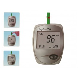EasyTouch Glucometer with Free 10 Test Strips