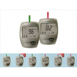 EasyTouch Glucometer GHB (Dual Function -  Glucose+HB Level Testing)