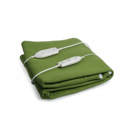 Expressions Electric Bed Warmer For Double Bed - Green Color