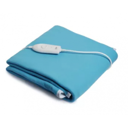 Expressions Electric Bed Warmer For Single Bed - Sky Blue Color (150cms x160cms)