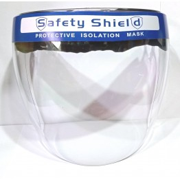 FACE SHIELD (Polycarbonate Helmet Type) - Premium Quality