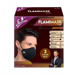 Flamingo FLAMIMASK (Male) - 3 Color Pack