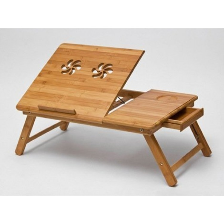 Premium wooden foldable multipurpose bed table for eating for Eating table