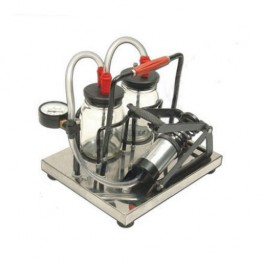 Foot Operated Manual Suction Machine (Steel Base)