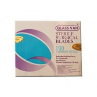 Glass Van Sterile Surgical Blade (100 Pcs. Per Box)