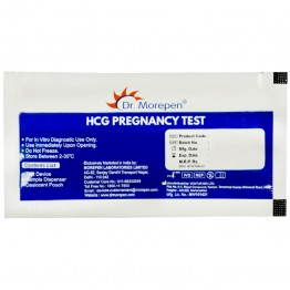 HCG Pregnancy Test Device Dr. Morepen (Box of 25 Test Kits)