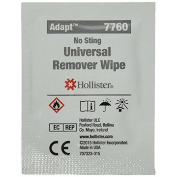 Hollister 7760 Remover Wipes - 50 pieces Box